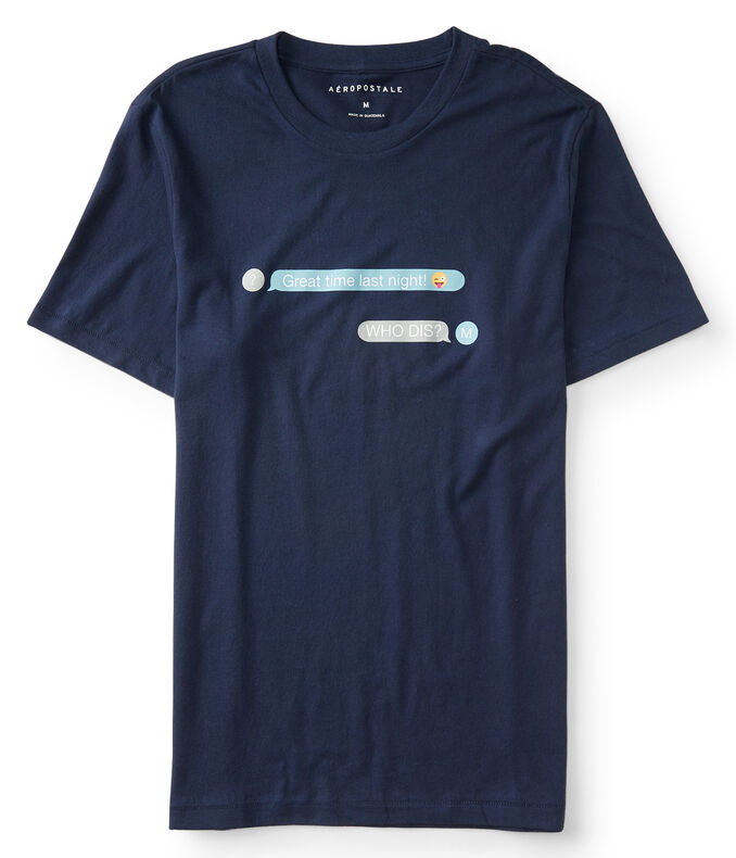 Text Messages Graphic Tee