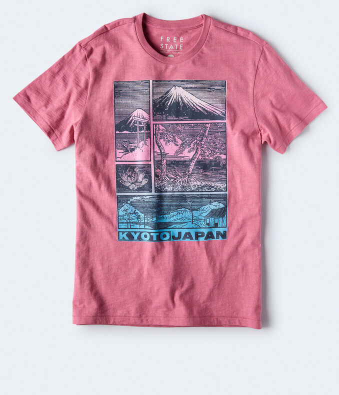 Free State Kyoto Japan Graphic Tee