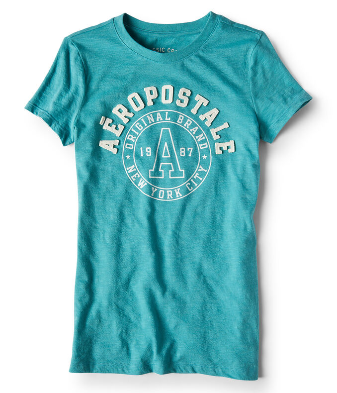 Aeropostale Circle Graphic Tee