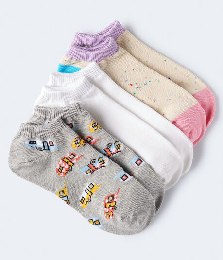Colorful RVs Ankle Sock 3-Pack