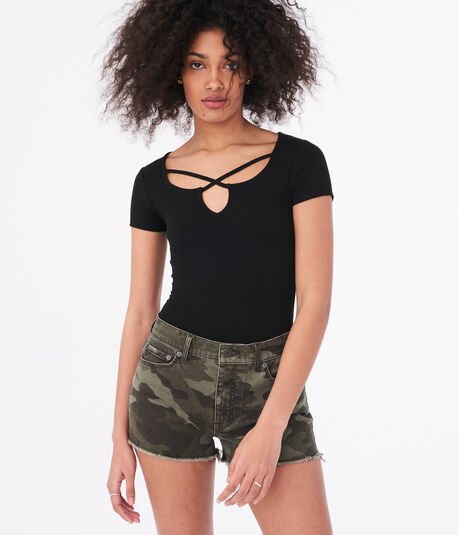 Seriously Soft Strappy Bodycon Top