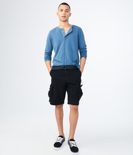 "Belted 11.5"" Cargo Shorts***"
