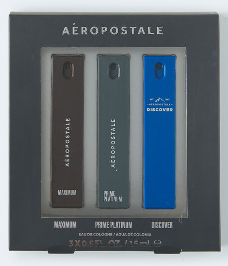 Guys' 3-Piece Travel Cologne Gift Set
