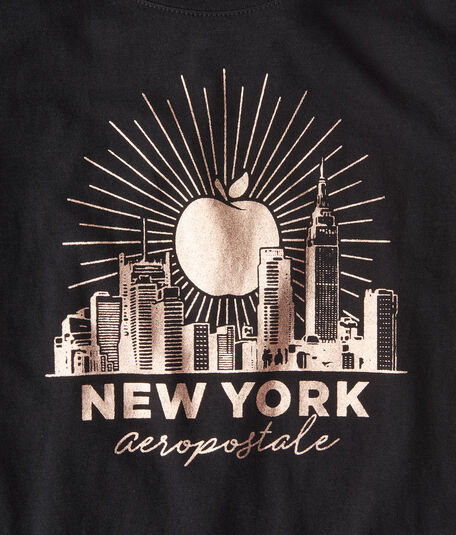 Big Apple Skyline Graphic Tee