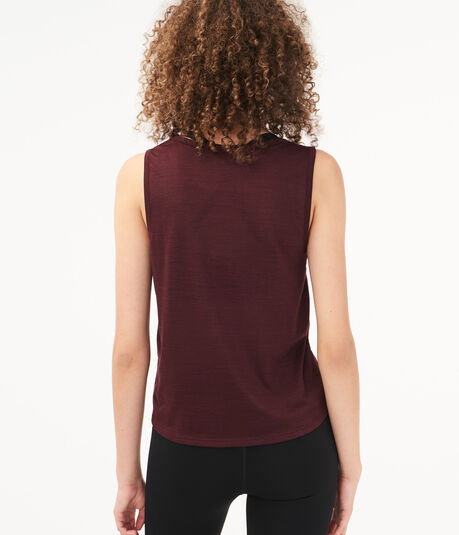 Tie-Front Muscle Tank