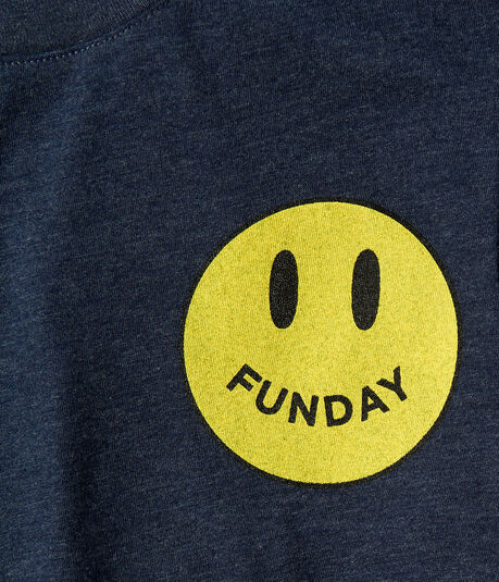 Free State Funday Smiley Face Graphic Tee