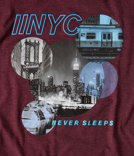 Free State NYC Never Sleeps Graphic Tee