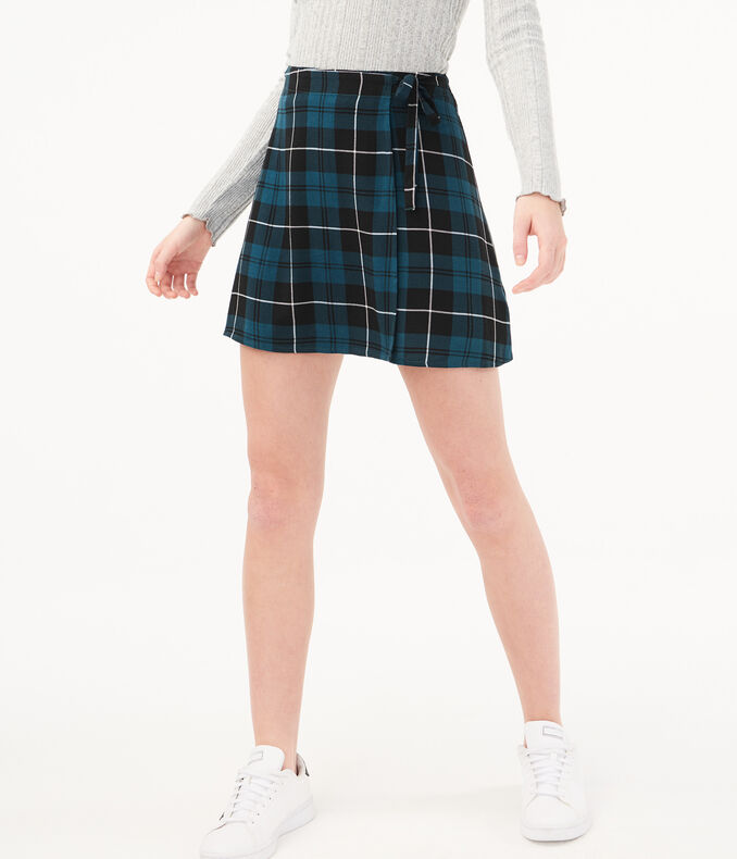 Print Wrap Skirt by Aeropostale