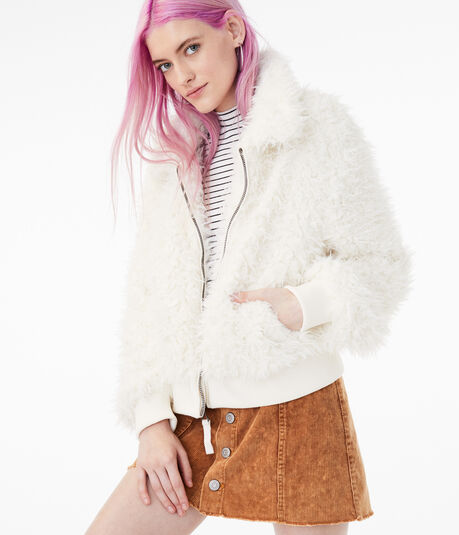 Faux Fur Yeti Jacket