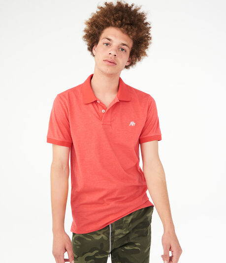 A87 Solid Jersey Polo