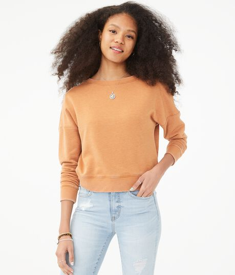 Twist-Back Sweatshirt