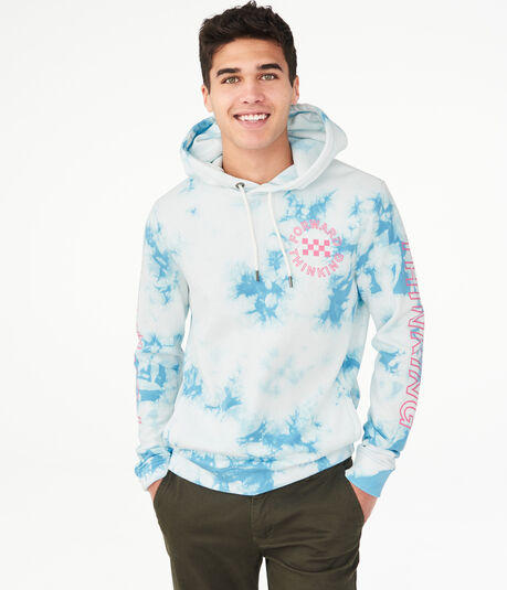 Forward Thinking Tie-Dye Pullover Hoodie