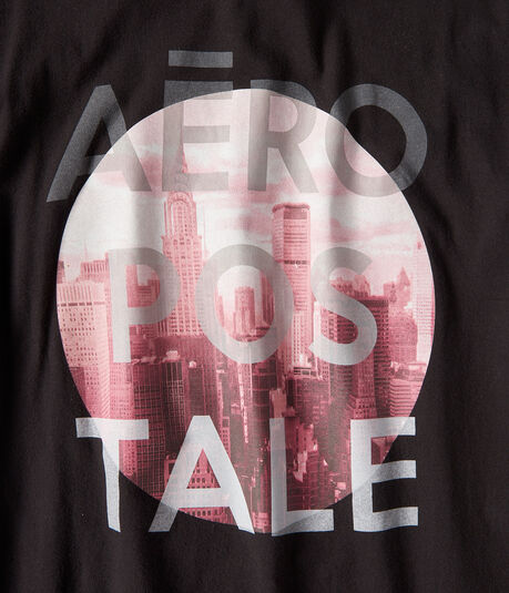 Aeropostale Circle City Graphic Tee