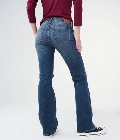 Low-Rise Flare Jean