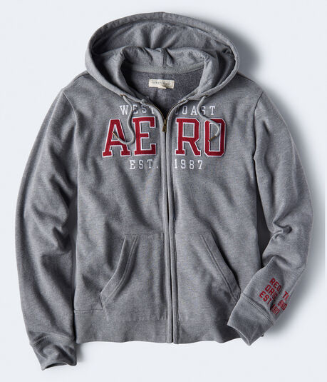 West Coast Aero 1987 Full-Zip Hoodie