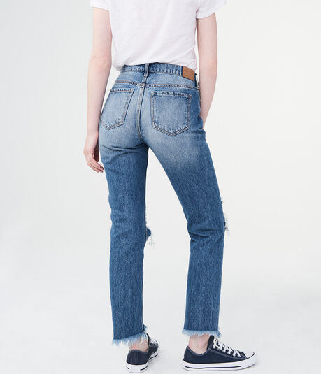 High-Waisted Cheeky Ankle Skinny Jean