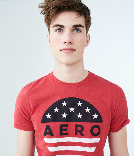 Aero Circle Flag Graphic Tee