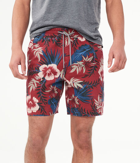 "Tropical 7.5"" Jogger Shorts"