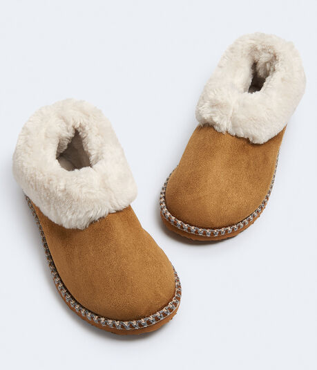 Faux Fur Slip-On