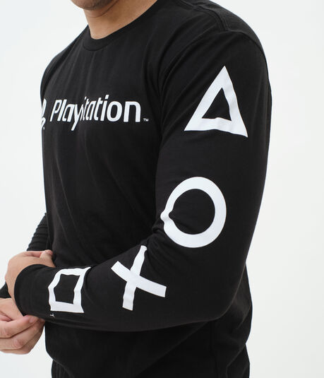 Long Sleeve PlayStation Graphic Tee