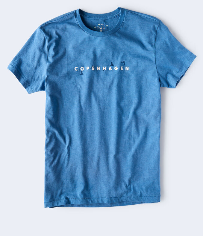 Copenhagen Birds Graphic Tee