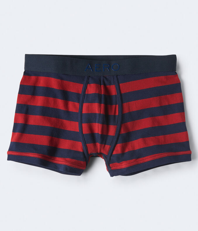 Rugby Stripe Knit Trunks
