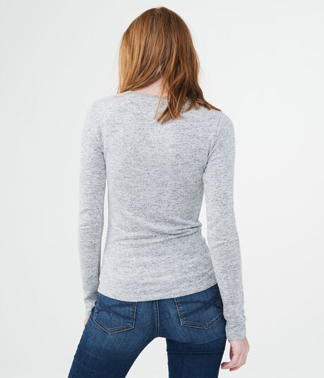 Long Sleeve Seriously Soft Twist Tee