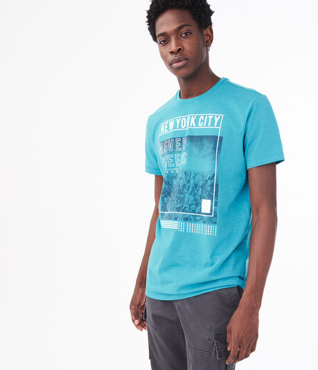 New York City Never Sleeps Graphic Tee