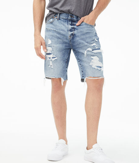 Real Denim Slim Cutoff Shorts