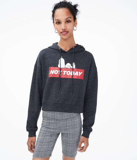 Snoopy Not Today Pullover Hoodie