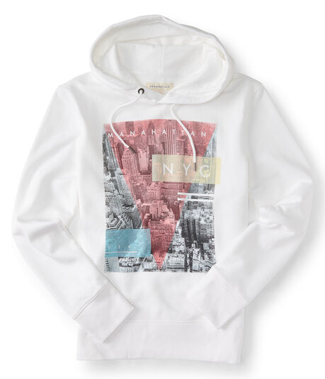 Manahattan NYC Photo Pullover Hoodie