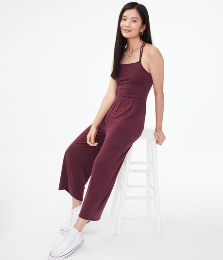 Seriously Soft Strappy Wide-Leg Jumpsuit