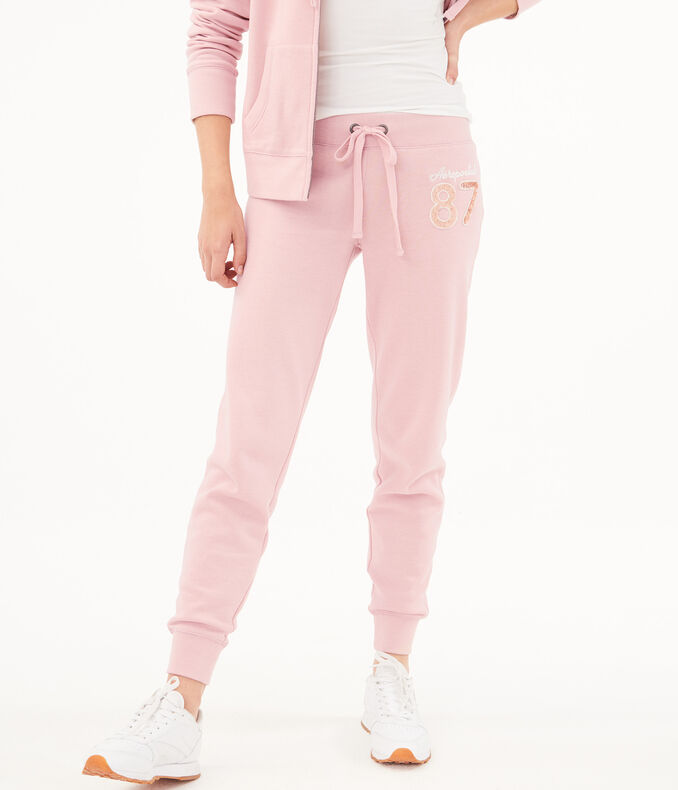 Aero 87 Sequin Jogger Sweatpants by Aeropostale