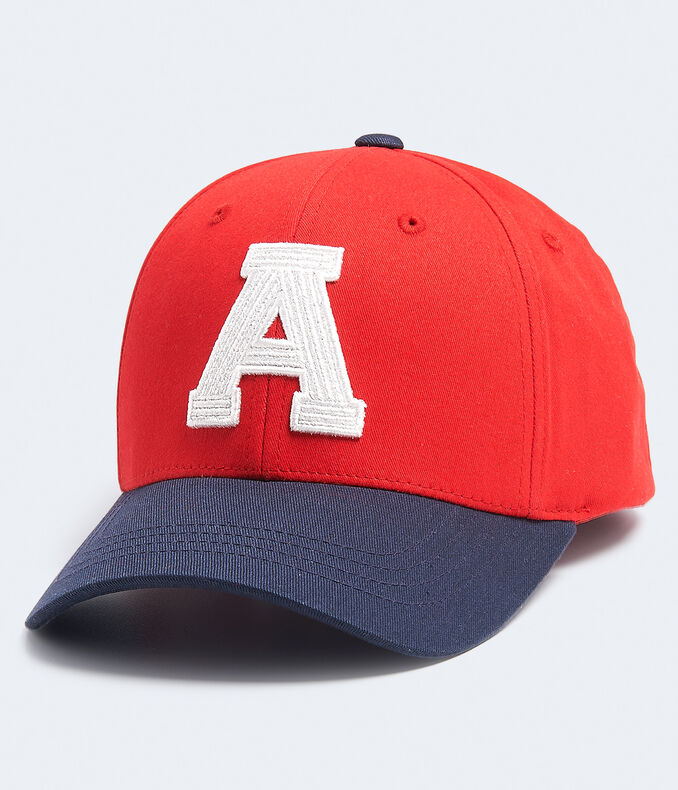 "Two-Tone ""A"" Fitted Hat"