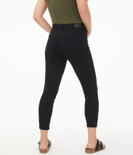 Seriously Stretchy High-Rise Cropped Jegging