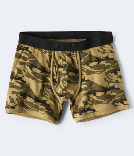 Camo Knit Boxer Briefs
