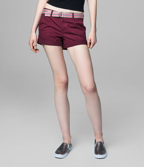 Prince & Fox Belted Beachcomber Twill Shorts