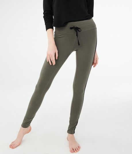 LLD High-Waisted Striped Leggings