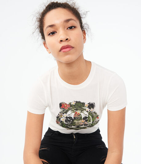 Floral Tiger Graphic Tee