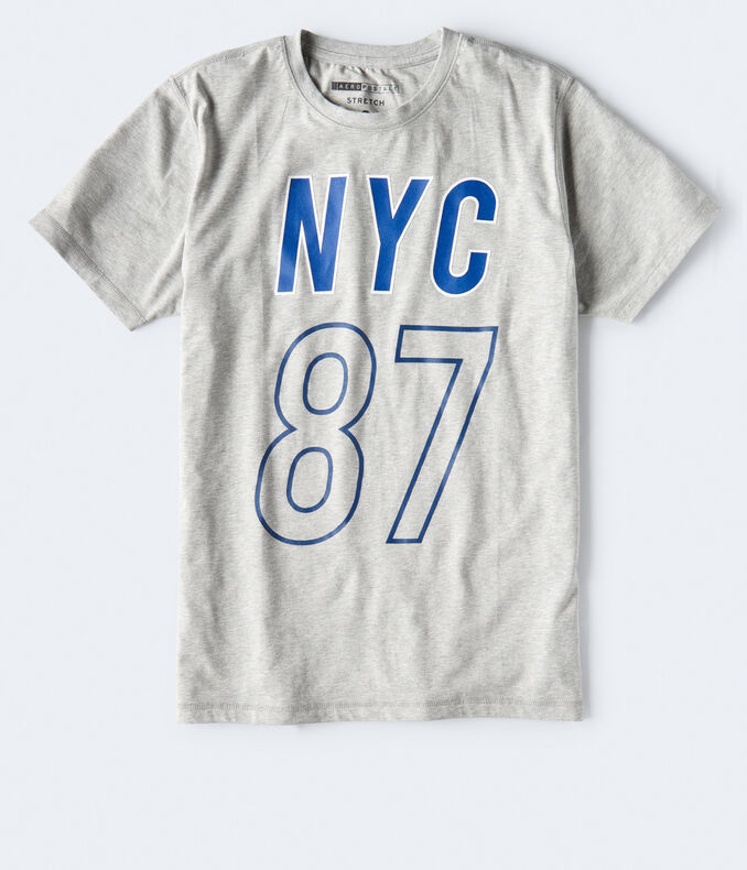 Nyc 87 Stretch Graphic Tee by Aeropostale