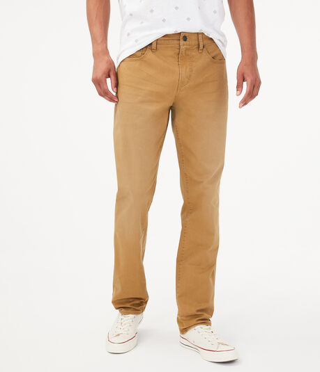 Skinny Colored Stretch Twill Pant***