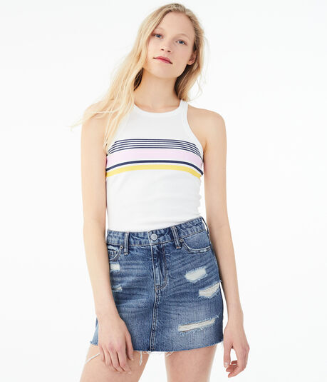 Seriously Soft Striped Heritage Tank
