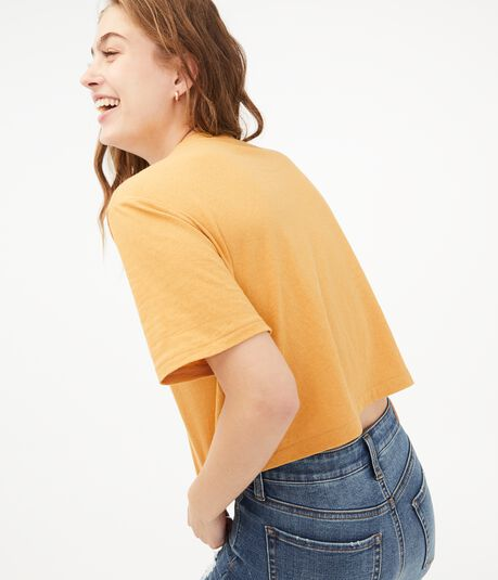'80s Boxy Cropped Tee