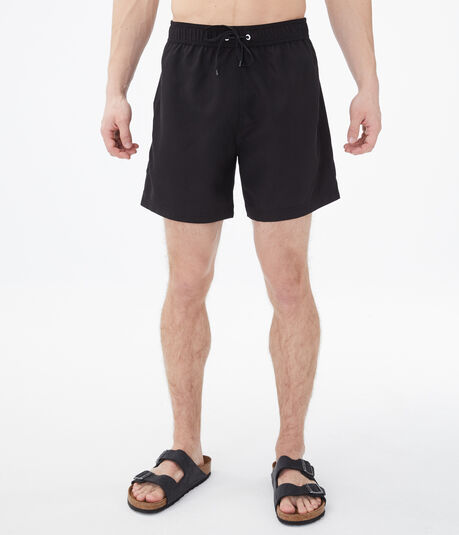 Solid Swim Shorts