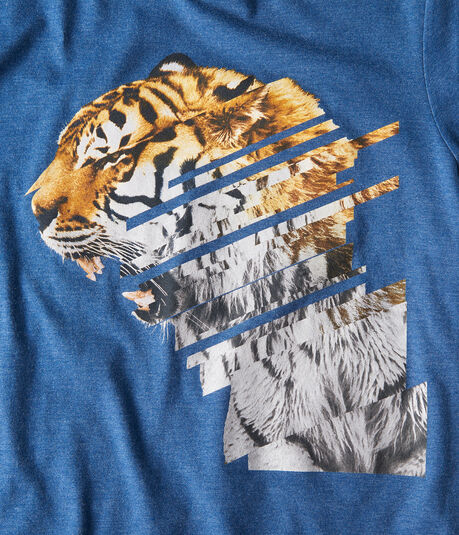 Linear Tiger Graphic Tee