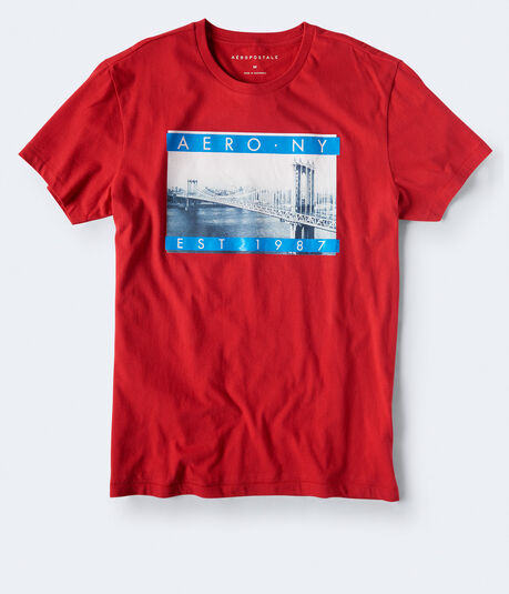 Aero NY Bridge Graphic Tee