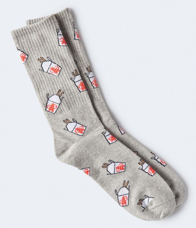 Chinese Takeout Crew Socks***