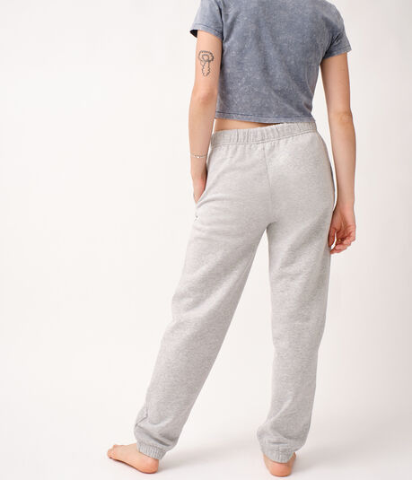 Slouchy High-Rise Cinched Sweatpants