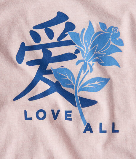 Love All Kanji Graphic Tee