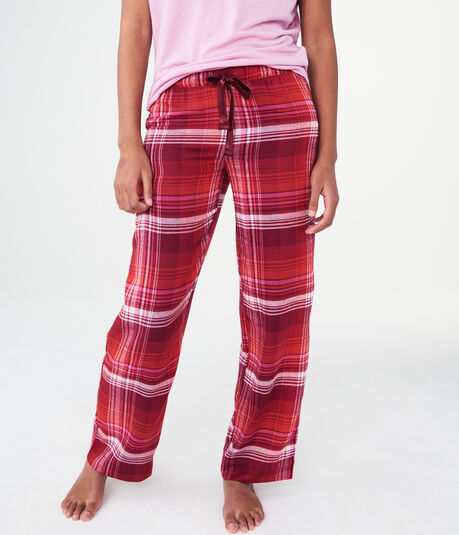 LLD Plaid Flannel Sleep Pants